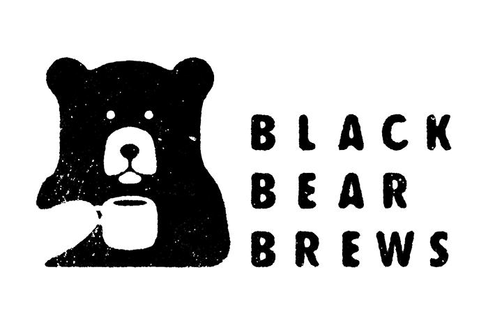 国外咖啡店logo设计 黑熊logo 咖啡店vi设计欣赏,咖啡店vi手册设计,咖啡