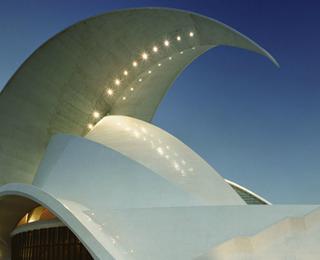 坦纳利佛音乐厅建筑设计欣赏