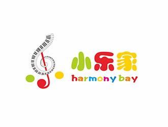 小乐家少儿钢琴培训机构logo设计